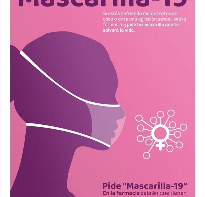 Las farmacias de Villena se unen a la campaña Mascarillas-19 contra los malos tratos