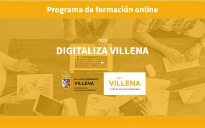 'Digitaliza Villena', un programa formativo de transformación digital para empresas