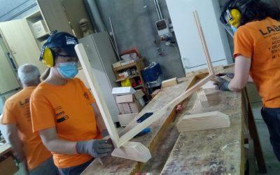 Vuelta a la actividad laboral del taller de empleo