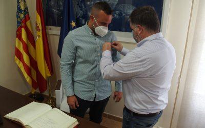 Villena homenajea al Teniente de la Guardia Civil Bruno Tato Varela