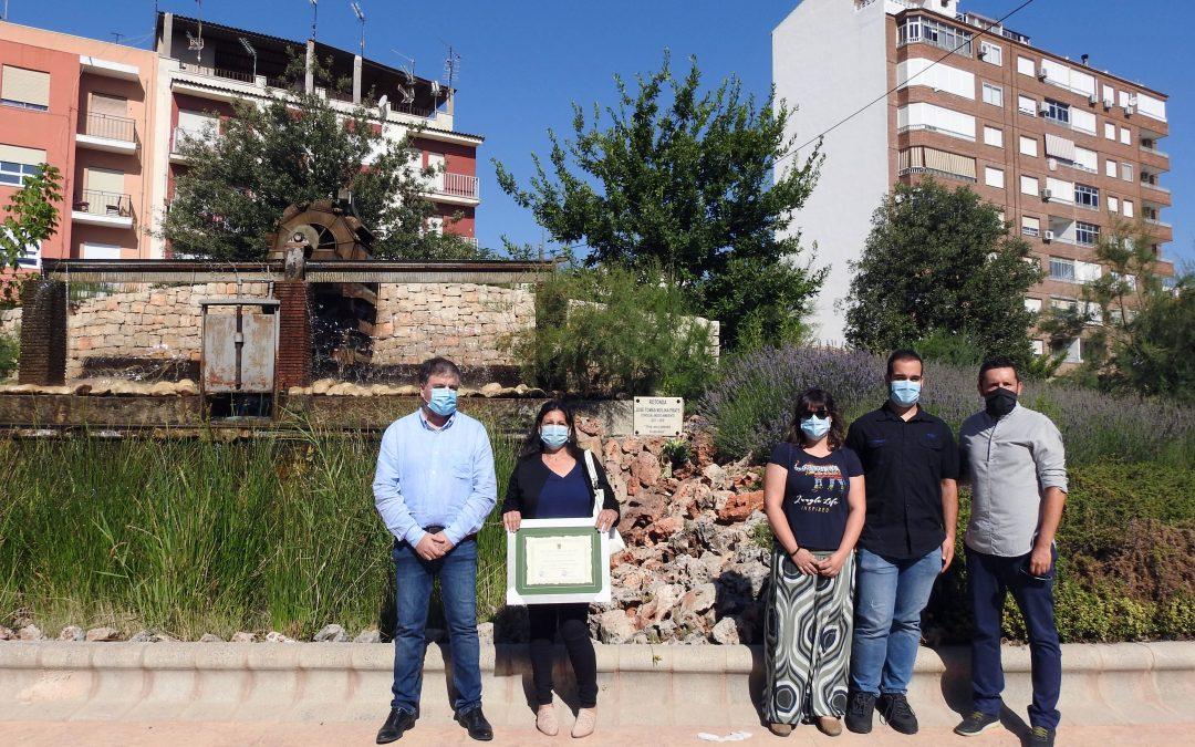 Homenaje, recuerdo y reconocimiento en honor al ex edil ecologista José Tomás Molina Prats