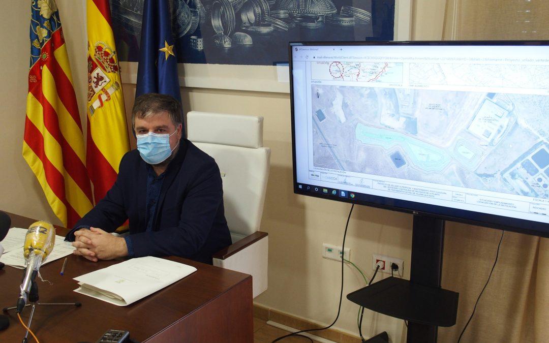 El Ayuntamiento de Villena aprueba el sellado del vertedero de la planta de residuos