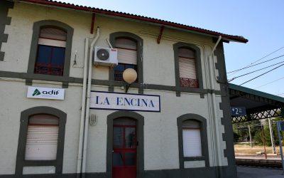 Villena avanza en la protección como Bien de Relevancia Local de las antiguas  instalaciones ferroviarias de La Encina