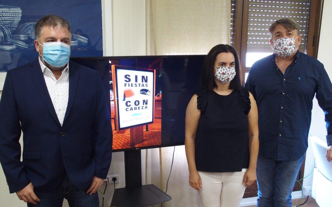 """""""Sin Fiestas, con cabeza"""" una campaña de conciención ciudadana del Ayuntamiento de Villena"""
