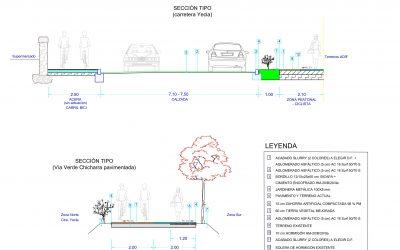 Villena conectará con un carril peatonal y ciclista la calle La Virgen con la Vía Verde del Chicharra