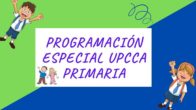 UPCCA especial primaria
