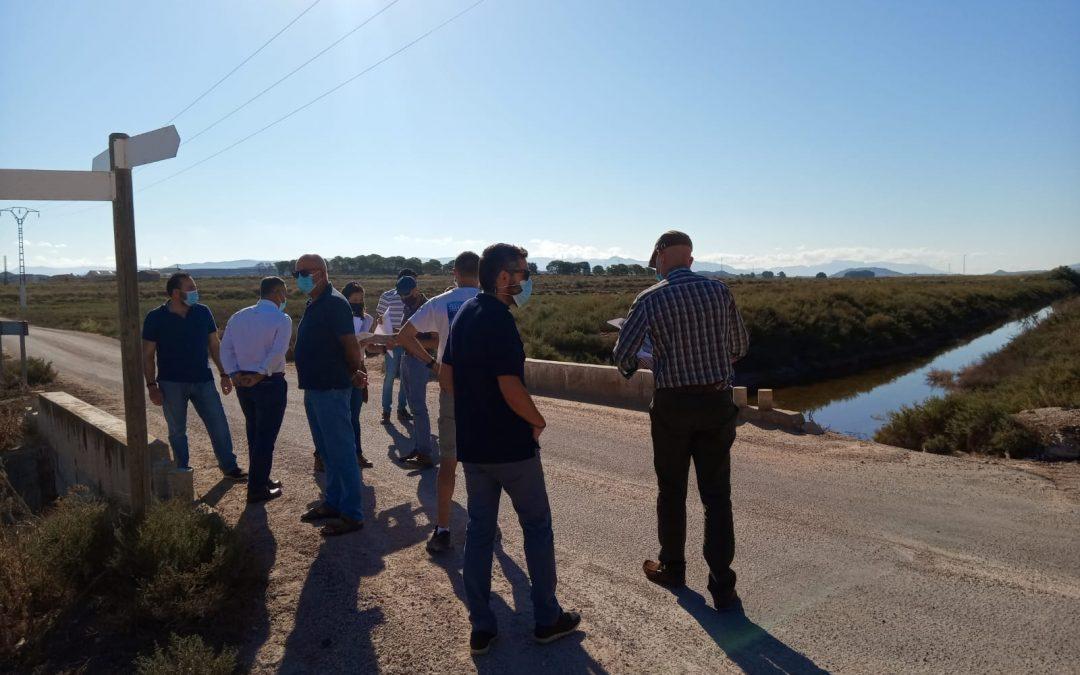Ayuntamiento, regantes y Confederación Hidrográfica acercan posturas para el mantenimiento y gestión de la Acequia del Rey