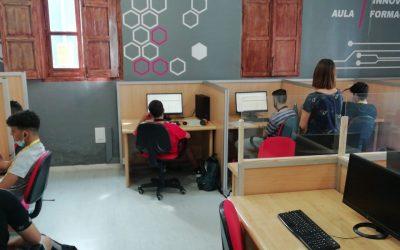 El Aula Innova Formación colabora con el IES Hermanos Amorós y la Fundación Sanamente