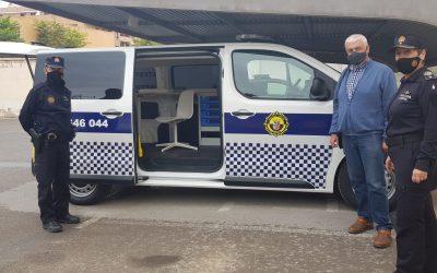 La Policía Local de Villena incorpora un nuevo vehículo de atestados