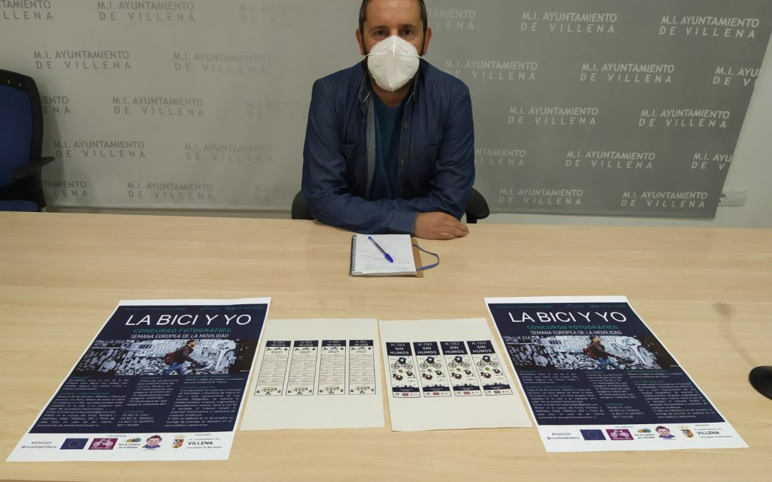 'La Bici y yo' concurso fotográfico por la Semana Europea de la Movilidad  en Villena
